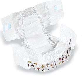 SHI Super Soft Non Woven Premium Baby Diaper Pack of 50 Pcs - Small