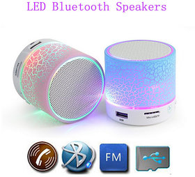 S10 Mini Dancing Light Bluetooth Portable Speaker (color as per available)