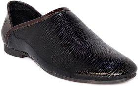 Blue Pop Men's Brown Loafers
