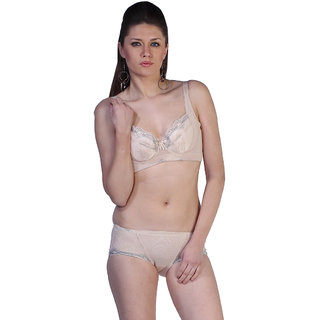 a086df6371 Buy Alluring Embroidered Fascinating Cream Bra With Matching Panty ...