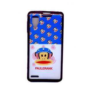 best website 4d104 acb60 Lenovo P780 Soft and Printed Back Cover