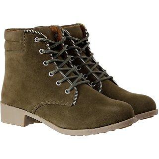 Meia Women Green Boots