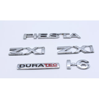 Customize Fiesta ZXI  Duratec 1.6 Emblem