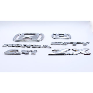 Customize Honda City ZX exi Emblem Kit
