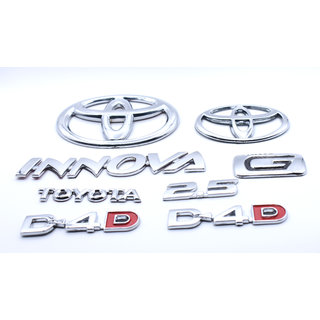 Customize Toyota Innova 2.5 D-4.D G Emblem Kit