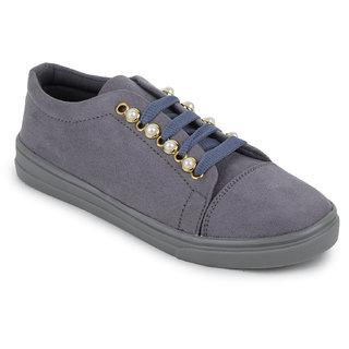 Fiteh Women's Grey Sneaker