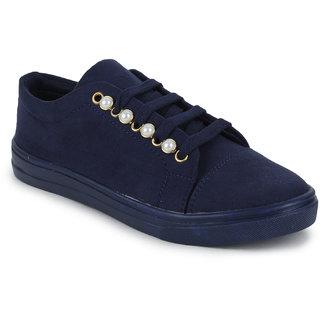 Fiteh Women's Blue Sneaker