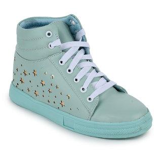 Fiteh Women's Green Sneaker