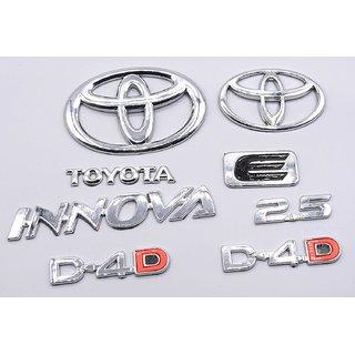 Emblem Toyota Innova 2.5 D-4.D logo/monogram/badge