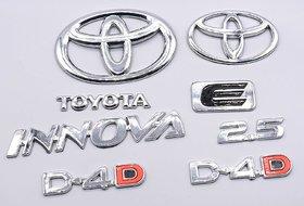 Customize Toyota Innova 2.5 D-4.D Emblem Kit