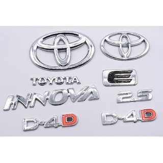 Customize Toyota Innova 2.5 D-4.D Emblem Kit