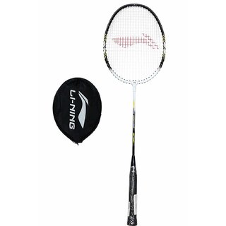 Li Ning Smash XP 808 Badminton Racquet,  Black/White