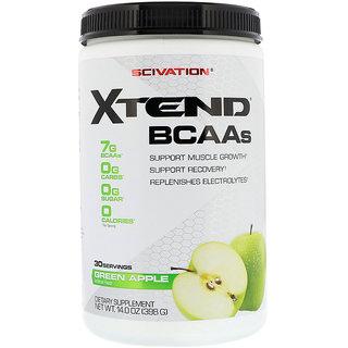 Sap Nutrition Scivation Xtend BCAA 30 Servings - 390g (green Apple)