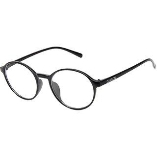 Cardon Black Round Full Rim EyeGlass