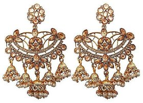 Bahubali dangler earrings