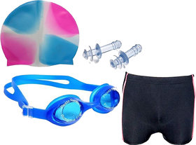Stylopunk Best Ideas Premium Swimming Combo in Multicolors (Comtents as Shown in the Picture) Swimming kit