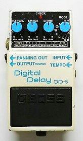 BOSS DD-5 DIGITAL DELAY GUITAR EFFECT USED PADEL