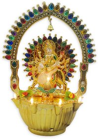 VRCT Showpiece Sherawali  Maa with Rotating Chakra