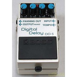 BOSS DD-5 DIGITAL DELAY GUITAR EFFECT PADEL USED PEASE