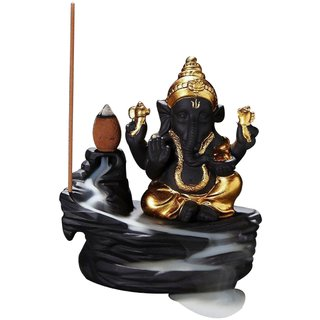 superiorneeds Meditating  Monk Buddha Incense Burner