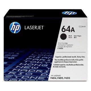HP 64A Black LaserJet Toner Cartridge (Black)
