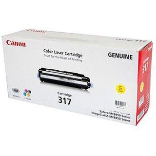 Canon 317 Y Single Color Toner(Yellow)