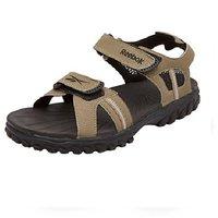 b4f8b806559180 Reebok Men S Brown Black Sandals