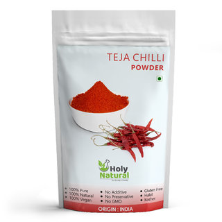 Teja Chilli Powder - 500 GM by Holy Natural