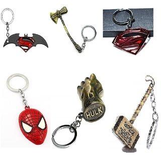 Super Hero Key Chain