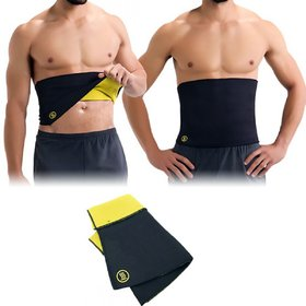 Favourite Deals Shaper Slimming Belt for Woman, hot Shaper Belt for Men (Black)