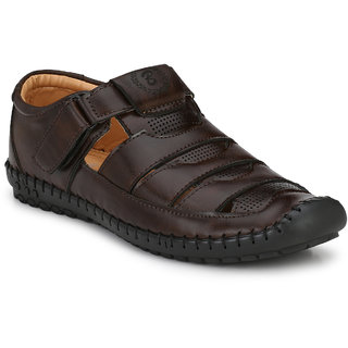 Shoe Rider Men's Black Slip On Sandals