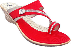 Dream Makers Red Flats