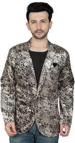 TODAY FASHION Multi Print Casual Blazer For Men's