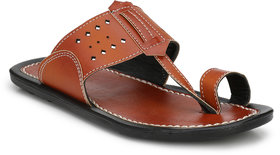 Brown Color Slippers For Men