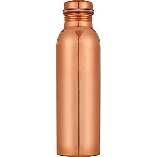 Buyerwell Copper Plain Jointless Water Bottle 1000 ml Pack of 1