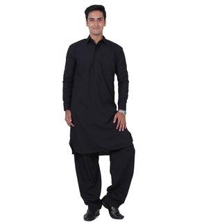 ABH Lifestyle Men's Pathani Suit Set