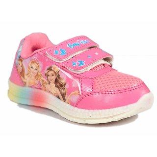 LED Light Pink Shoe For Girls