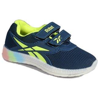 LED Light Green Shoes For Boys