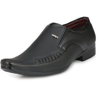 mercy 3564 black formal shoes for mens