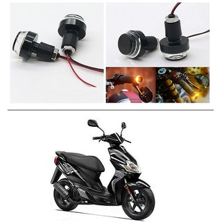 AutoStark 2X Motorcycle DRL/Turn Signal LED Light Blinker Indicator Handle Bar End For Yamaha Jog R