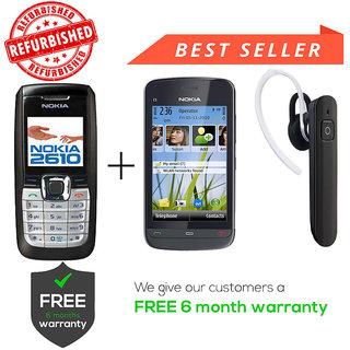 Nokia 2610  C5-03 Get Wireless BT