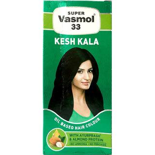 Super Vasmol 33 Kesh Kala Oil Based Hair Colour 100ml