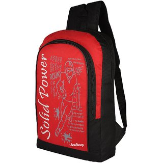 20704334e744 Buy LeeRooy Canvas 18 Ltr Red Office Bag Backpack For Unisex Online - Get 31%  Off