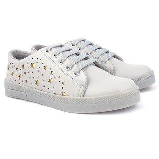 Vendoz Women Grey Sneakers