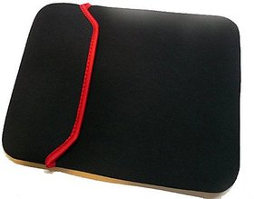 SRA 15.6 inch Expandable Laptop Sleeve (Red/Black)
