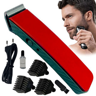 Men's Professional Rechargeable Waterproof Bread Mustache Ultra Trim Hair Trimmer Hair Clipper Shaver Electric Razor