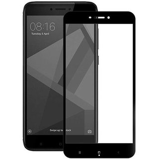5D Tempered Glass for Redmi note (BLACK)