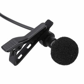 Deals e Unique Collar Mike Clip Microphone 3.5mm For Voice Recording,Youtube Vedio, Lapel Mic Mobile, Pc, Laptop, Camera