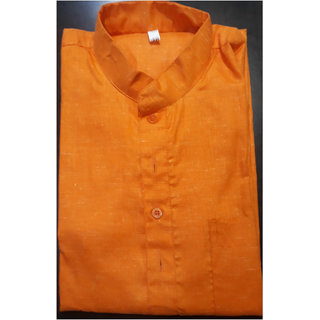 Men's Self Design Long Kurta