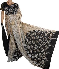 cotton batick saree